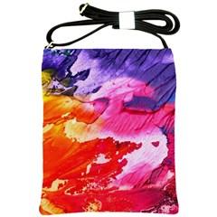 Red Purple Paint                                     Shoulder Sling Bag
