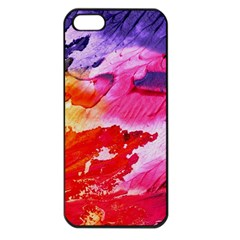 Red Purple Paint                               Apple Iphone 5 Seamless Case (black)