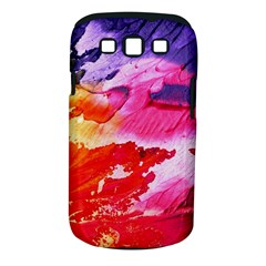 Red Purple Paint                               Samsung Galaxy S Ii I9100 Hardshell Case (pc+silicone) by LalyLauraFLM