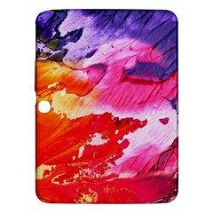 Red Purple Paint                               Samsung Galaxy Tab 3 (8 ) T3100 Hardshell Case