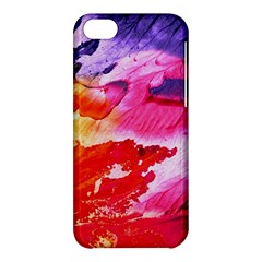 Red Purple Paint                               Apple Iphone 5s Hardshell Case