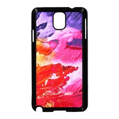 Red Purple Paint                               Samsung Galaxy S5 Back Case (white)