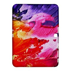 Red Purple Paint                               Samsung Galaxy Tab 4 (10 1 ) Hardshell Case