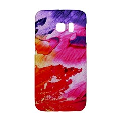 Red Purple Paint                               Samsung Galaxy S6 Edge Hardshell Case