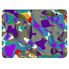Blue Purple Shapes                                Htc One M7 Hardshell Case by LalyLauraFLM