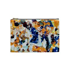 Paint On A White Background                                       Cosmetic Bag