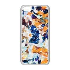 Paint On A White Background                                 Apple Iphone 5c Seamless Case (black)
