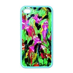 Spring Ornaments 2 Apple Iphone 4 Case (color)