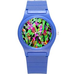 Spring Ornaments 2 Round Plastic Sport Watch (s)