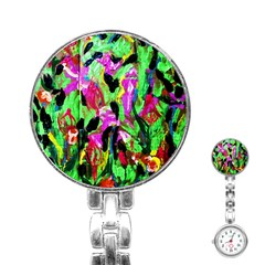 Spring Ornaments 2 Stainless Steel Nurses Watch