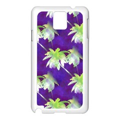Palm Trees Hot Summer Nights Samsung Galaxy Note 3 N9005 Case (white)