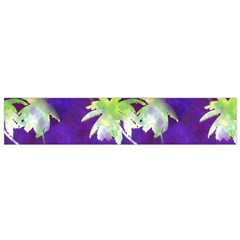 Palm Trees Hot Summer Nights Flano Scarf (small)  by CrypticFragmentsColors