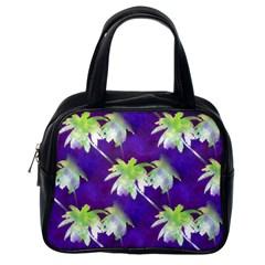 Palm Trees Hot Summer Nights Classic Handbags (one Side)
