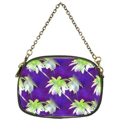 Palm Trees Hot Summer Nights Chain Purses (one Side)