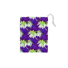 Palm Trees Hot Summer Nights Drawstring Pouches (xs)