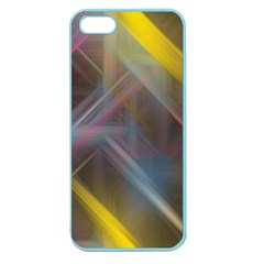 Fractals Stripes                                  Apple Seamless Iphone 5 Case (clear)