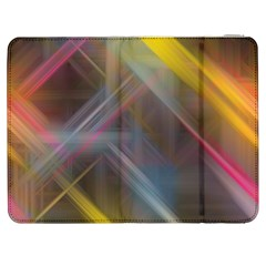 Fractals Stripes                                  Htc One M7 Hardshell Case by LalyLauraFLM