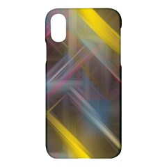 Fractals Stripes                                    Apple Iphone X Hardshell Case