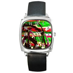 Easter 2 Square Metal Watch