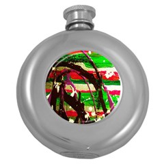 Easter 2 Round Hip Flask (5 Oz)