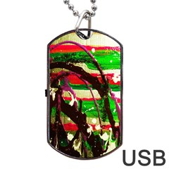 Easter 2 Dog Tag Usb Flash (two Sides)