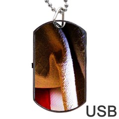 Colors And Fabrics 28 Dog Tag Usb Flash (two Sides)