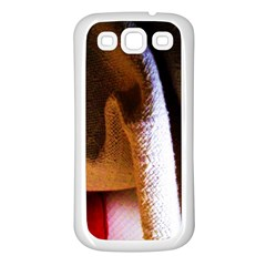 Colors And Fabrics 28 Samsung Galaxy S3 Back Case (white)