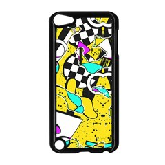 Shapes On A Yellow Background                                   Apple Ipad Mini Case (white)