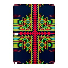 Distorted Shapes On A Blue Background                                 Samsung Galaxy Tab Pro 8 4 Hardshell Case by LalyLauraFLM