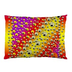 Festive Music Tribute In Rainbows Pillow Case (two Sides)
