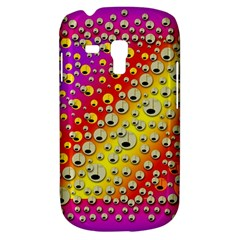 Festive Music Tribute In Rainbows Samsung Galaxy S3 Mini I8190 Hardshell Case by pepitasart