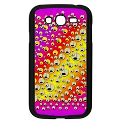 Festive Music Tribute In Rainbows Samsung Galaxy Grand Duos I9082 Case (black)