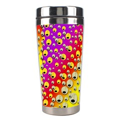 Festive Music Tribute In Rainbows Stainless Steel Travel Tumblers