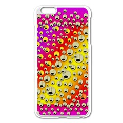 Festive Music Tribute In Rainbows Apple Iphone 6 Plus/6s Plus Enamel White Case