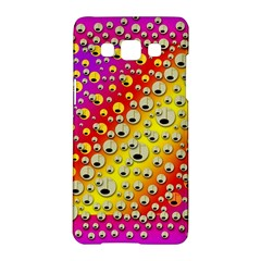 Festive Music Tribute In Rainbows Samsung Galaxy A5 Hardshell Case