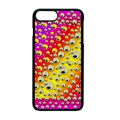 Festive Music Tribute In Rainbows Apple Iphone 7 Plus Seamless Case (black)