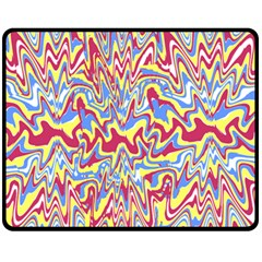 Splash Butterfly Effect Created By Flipstylez Designs Double Sided Fleece Blanket (medium)  by flipstylezdes