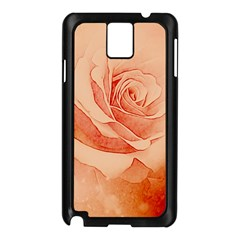 Wonderful Rose In Soft Colors Samsung Galaxy Note 3 N9005 Case (black)