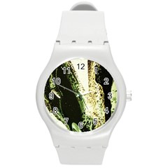 There Is No Promissed Rain 2 Round Plastic Sport Watch (m)