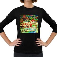 Width 2 Women s Long Sleeve Dark T Shirts