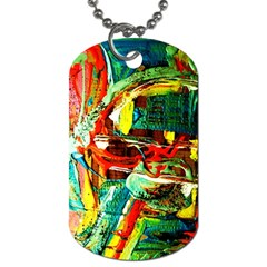 Red Aeroplane 5 Dog Tag (two Sides)