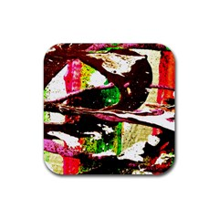 Easter 3 Rubber Coaster (square)