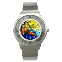 I Wonder 3 Stainless Steel Watch