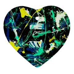 Brain Reflections 3 Ornament (heart)