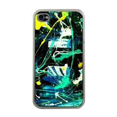 Brain Reflections 3 Apple Iphone 4 Case (clear)