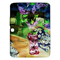 Lilac On A Countertop 2 Samsung Galaxy Tab 3 (10 1 ) P5200 Hardshell Case