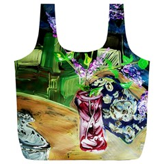 Lilac On A Countertop 2 Full Print Recycle Bags (l)