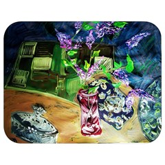 Lilac On A Countertop 2 Full Print Lunch Bag by bestdesignintheworld