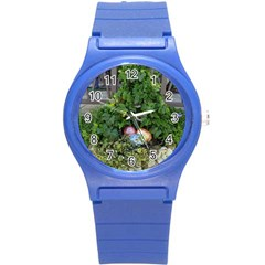 Easter On Balboa Round Plastic Sport Watch (s)