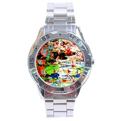 Width 3 Stainless Steel Analogue Watch